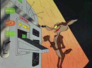 wile e coyote univac