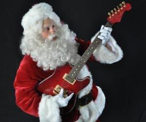 Rocking Around The Chrismas Tree with Santa