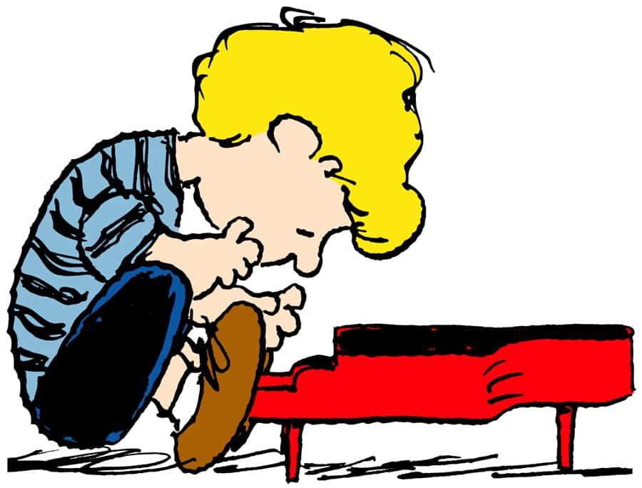 Schroeder and his Piano