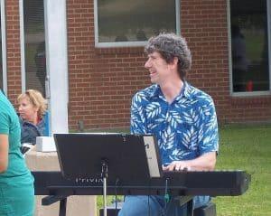 Lynn Ray Stanphill at BYO Musicians event
