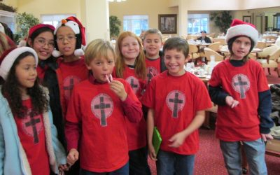 Childrens Church Christmas Concert at Dogwood Estates Retirement Home in Denton – 2013